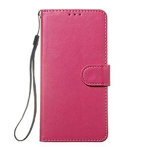 Docrax Handyhülle Lederhülle für Galaxy Note8, Flip Case Schutzhülle Hülle mit Standfunktion Kartenfach Magnet Brieftasche für Samsung Galaxy Note8 – DOYHU250181 D1
