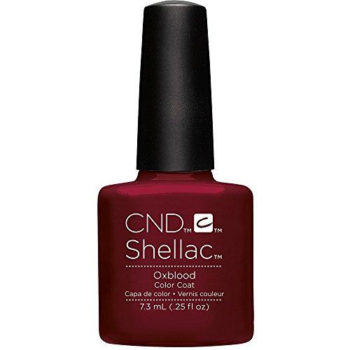 CND Shellac Smalti Semipermanente Oxblood per Unghie - 7 ml