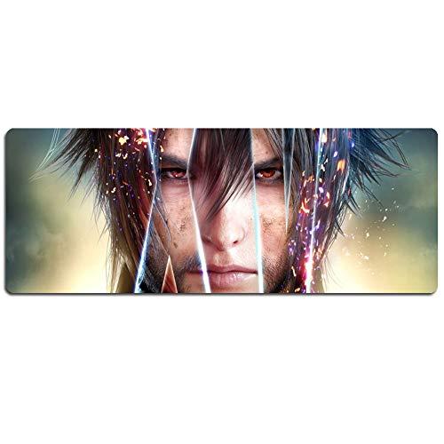 IGZNB Final Fantasy XXL Speed Gaming Mauspad | 900 X 400Mm | XXL Mousepad | Tischunterlage Large Size | Perfekte Präzision Und Geschwindigkeit,Mmauspad