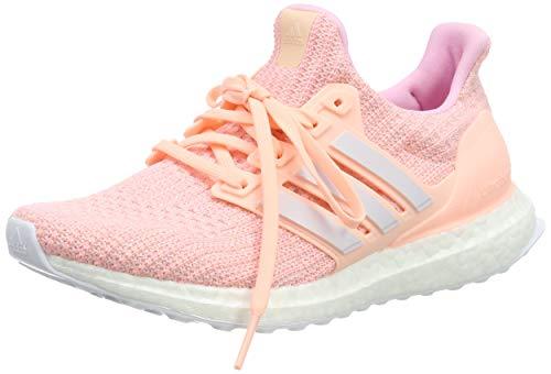 Adidas Damen Ultraboost Sneaker , Mehrfarbig (Clear Orange/Orchid Tint S18/True Pink F36126), 42 EU