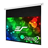 Elite Screens Starling 2, 135-inch 16:9 with 6' Drop, Electric Motorized Auto HD Projection Projector Screen, ST135XWH2-E6
