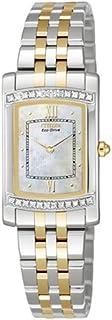 Citizen - EG3125-59D - Reloj analógico de Cuarzo para Mujer, Correa de Acero Inoxidable Multicolor