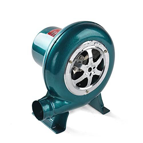 BBQ Blower Variable Speed Centrifugal Electric Blacksmith Forge Air Blower Fan,for Camping/Picnic/Outdoor Acativities