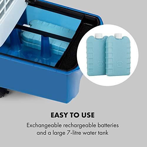 Klarstein IceWind Plus Luftkühler inkl. Fernbedienung & 2 Kühlakkus Erfahrungen & Preisvergleich