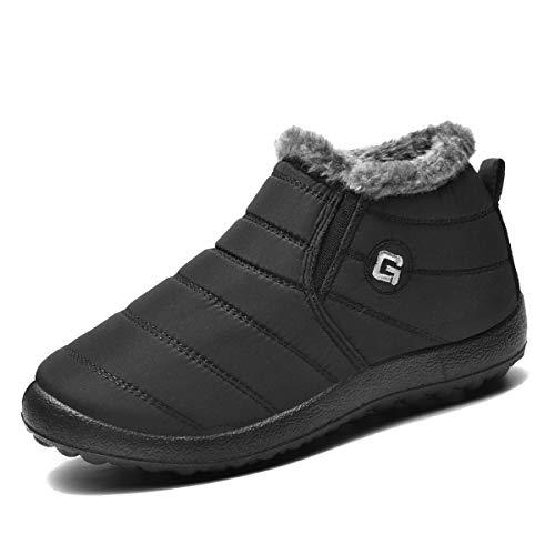 Ginjang Women Winter Snow Boots