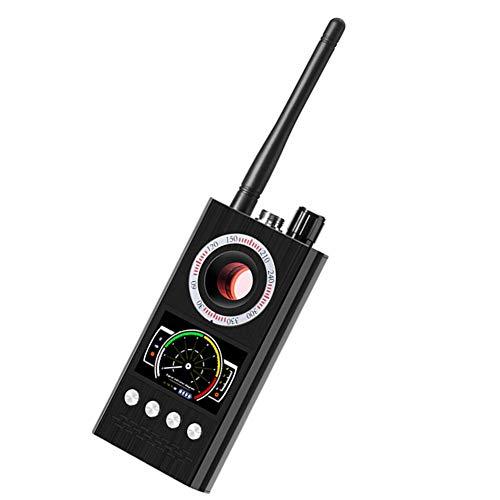 Nicejoy Dispositivos de detección Detector de la cámara del GPS del buscador K68 de la señal GPS Rastreador escáner inalámbrico para la Seguridad casera Negro para el hogar