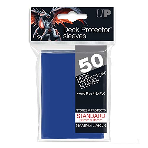 Ultra PRO 82670 Fogli protettive Protector Tsunami Blu, 50 Pezzi [Importato dalla Germania]