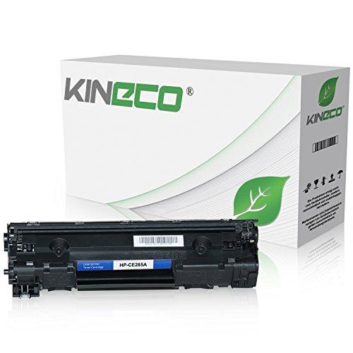Kineco Toner kompatibel zu HP CE285A CE285X für HP Laserjet Pro P1102w ePrint, Laserjet Pro P1100, Laserjet Pro M1132 All-in-One - 85A - Schwarz 2.100 Seiten