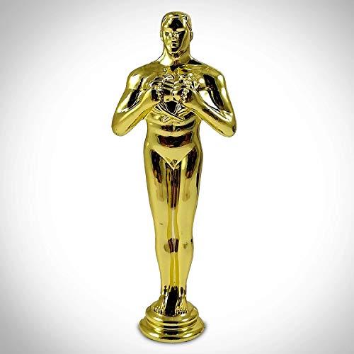 RARE-T Oscar Statuette - Limited Edition 24k Gold Plated Academy Awards Oscar Statuette Replica
