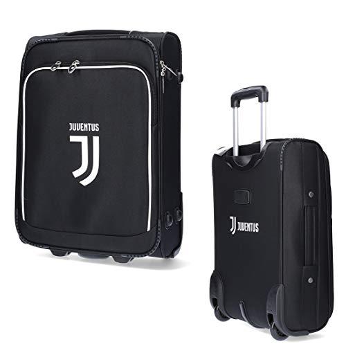 Juventus Trolley da Viaggio - Novità 2019/2020-100% Originale - 100% Prodotto Ufficiale - Colore Nero - Dimensioni 34 x 50 x 19 cm