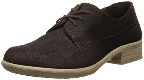 Naot Footwear Women's Kedma Lace Up Shoe Mine Brown Lthr 5 M US