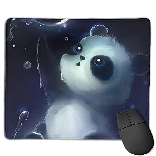 Alfombrilla de ratón de Panda Gaming, alfombrilla de ratón rectangular personalizada, goma antideslizante impresa cómoda almohadilla de ratón para computadora