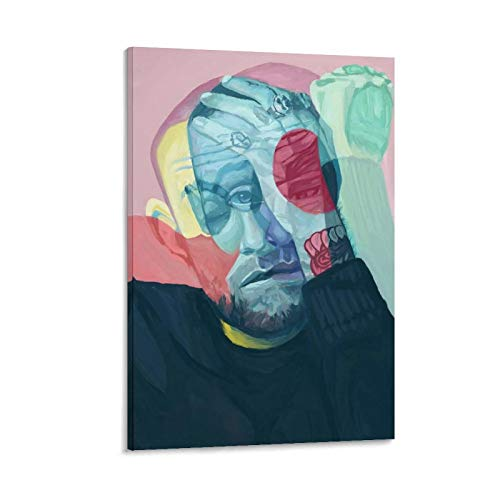 Mac Miller Circles - Póster de lienzo (60 x 90 cm)