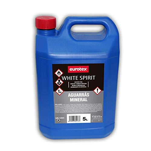 Disolvente White Spirit - Aguarrás Mineral - 5 L
