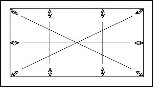 Biotin Spieltuchspanner Pokertuch Tischtuchspanner Poker Tisch Tuch Spanner (Spieltuchspanner bis max. Tischgröße 200x100cm)