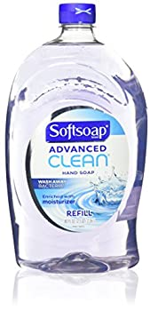 Softsoap Handsoap Refill Washes Away Bacteria 80 Fl Oz
