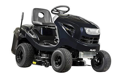 AL-KO Rasentraktor Black Edition (5.8 kW Motorleistung, 1 Zylinder 352 ccm Hubraum, 93 cm Schnittbreite, Fuß-Hydrostatgetriebe, 220 L Fangbox mit Teleskophebel)