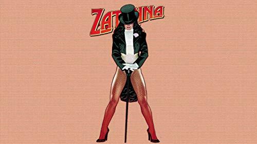"Zatanna DC Bombshell Poster Print Canvas Poster Wall Decor Art Wall Art Print Gift Poster Unframed Printing Size - 11""x17"" 18""x24"" 24""x32"" 24""x36"" (M - 18""x24"" (46x61cm))"