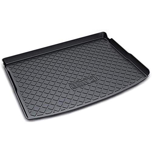 Car Rubber Rear Trunk Mat, for BMW 2 Series Active Tourer F45 2014 2015 2016 2017 2018 2019 Anti Dirty Waterproof Interior Cargo Carpet Boot Liner Mat Protector Accessories