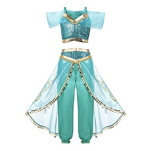 Mooler Disfraz de princesa cosplay cuento de hadas para niñas disfraz de Halloween fiesta de carnaval