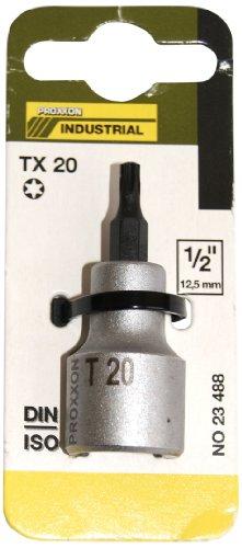Preisvergleich Produktbild Proxxon 23488 TX-Einsatz T20 55 mm,  1 / 2 Zoll