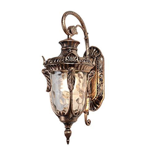Lámpara de Pared Lámpara de Pared decoración al Aire Libre Impermeable Chalet Patio Paisaje lámpara de Pared de la Puerta del Pasillo del Pasillo de la lámpara Retro balcón Luces de Pared