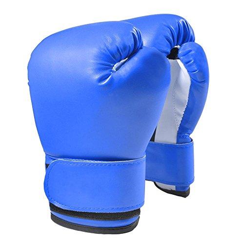 Dilwe kinderbokshandschoenen, 1 paar PU Junior Tahi bokszak boksvechthandschoenen voor 3-12 jaar oude kinderen voor MMA, Muay Thai, kickboksen en zandzak boksliefhebbers