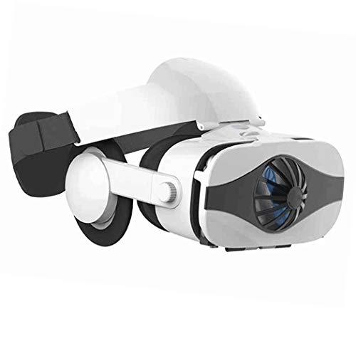 JYMYGS Gafas VR, Gafas de Realidad Virtual, VR Glasses Visión Panorámico 360 Grado Película 3D Juego Immersivo para Móviles 4.0-6.0 Pulgada para iPh X/7/6s 6/Plus, Galaxy s8/ s7, etc. N063JL