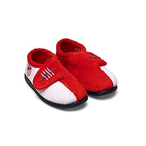 Zapatillas Atlético Niño Botín Blancas