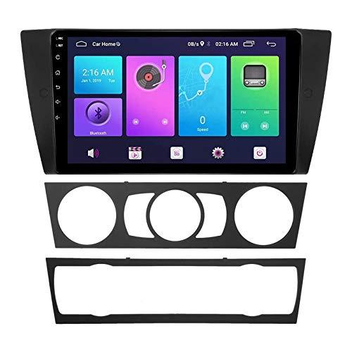 Coche Estéreo Navegador Resistivo Digital FM Am Radio Receptor Player Multimedia con Enlace De Bluetooth Mirror Llamada Contestación por BMW3 Series E90 91 92 93 CCC,8 Core 4g+WiFi: 4+64gb