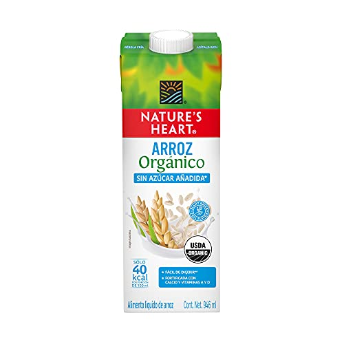 Nature's Heart Bebida de Arroz, Orgánica, 946 ml