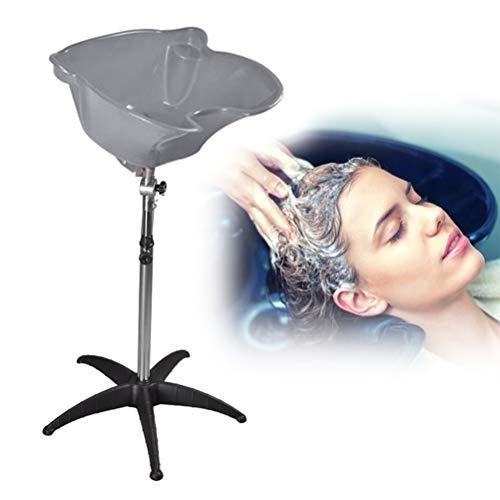 Bac à Shampoing Évier Réglable en Hauteur Bassin De Cheveux Barber Salon Bol en Plastique Shampooing Traitement des Cheveux Bol Outils de Cheveux pour Femme Enceinte Patient Enfant,3