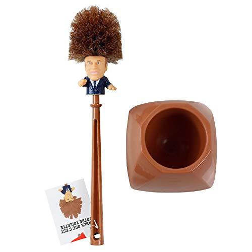 Brosse WC Macron | Balai de Toilettes Emmanuel Macron | Brosse de Toilette Humoristique | WC | Idée Cadeau | Insolite | Secret Santa | Humour | France | Président | Fun | OriginalCup®