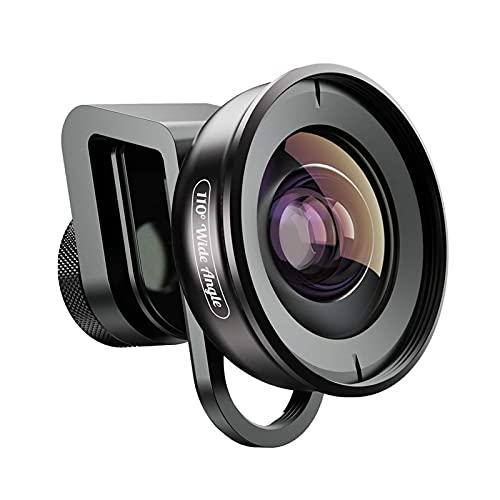 CXSD Lente de cámara HD para teléfono – Lente gran angular de 110 grados compatible con iOS, Android y la mayoría de teléfonos de cámara
