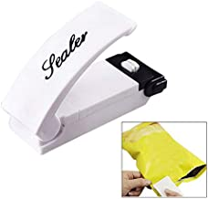 Handheld Heat Bag Sealer for Airtight Food Storage Saver, Reseals Snack Bags, Seals Plastic Aluminum Chip Packs and Commercial Size Repack