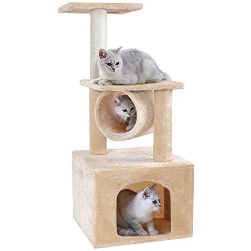 BEAU JARDIN 94 CM Árbol para Gatos Árbol Rascador para