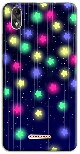 Mixroom Schutzhülle für Wiko Lenny 4 Plus, Motiv Sterne Neon N1041