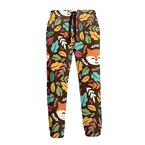Amanda Horatio Smile Fox - Pantalones deportivos para hombre
