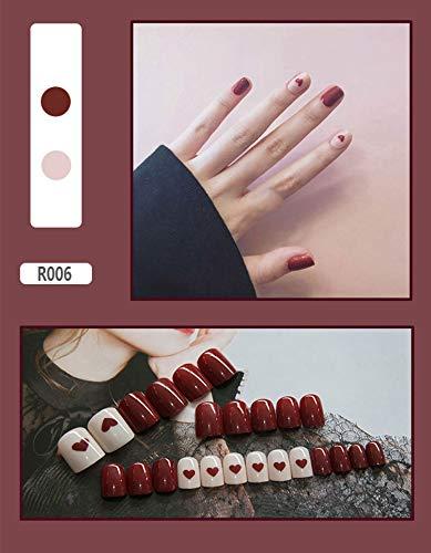 Uñas postizas Consejos de uñas postizas anchas Herramientas de decoración de arte...