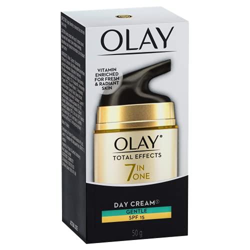 Olay Total Effects Face Cream Moisturiser Gentle SPF 15, 50g Grams