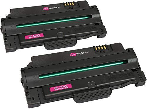 2 Premium Toner kompatibel für Samsung MLT-D1052L D1052L ML-1910 ML-1915 ML-2525 ML-2525W ML-2540 ML-2545 ML-2580N SCX-4600 SCX-4623F SCX-4623FN SCX-4623FW SF-650 | 2.500 Seiten