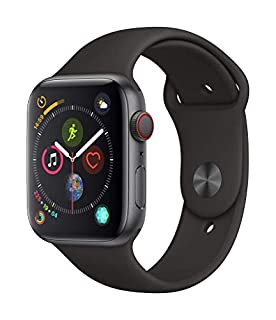 Apple Watch Series 4 (GPS + Cellular, 44mm) - Space Gray Aluminum Case with Black Sport Band (B07HDHLPBM) | Amazon price tracker / tracking, Amazon price history charts, Amazon price watches, Amazon price drop alerts