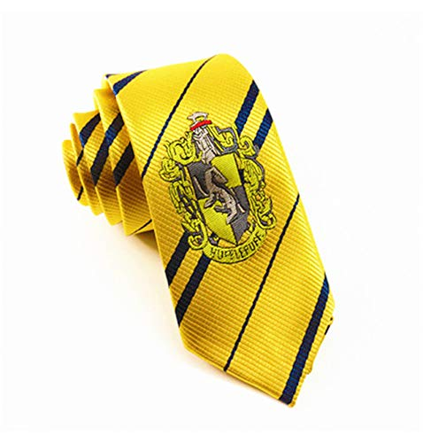 BazarPRO Cravatta della casata Tassoross/Tassofrass - Ispirato all'universo Harry Potter Replica
