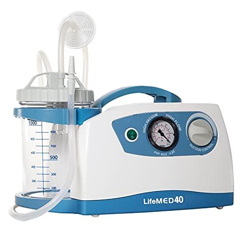 Aspiratore chirurgico - 40 litri/minuto art. LIFEMED 40