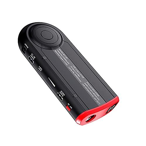 800A 12000mAh Car Jump Starter Batería emergencia Booster Herramienta eléctrica portátil exteriores 6.0L Gasolina 3.0L diesel Cargadores inteligentes USB 12V Cargador linterna LED ( Color : 12000mAH )