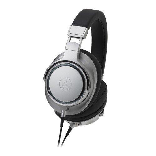 Audio-Technica ATH-SR9 - Cuffie ad alta risoluzione, colore: Argento