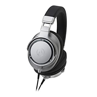 Audio-Technica ATH-SR9 - Auriculares de Diadema Cerrados en Alta resolución, Plata (B06XYSTGKX) | Amazon price tracker / tracking, Amazon price history charts, Amazon price watches, Amazon price drop alerts