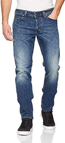 Diesel Herren Larkee-BEEX Straight Jeans, Blau 01, 33W / 30L