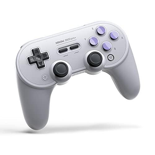 8Bitdo SN30 Pro+ Wireless Bluetooth Gamepad for Nintendo SwitchWindowsmacOSAndroidRaspberry Pi (SN Edition) [ ] [Importación alemana]
