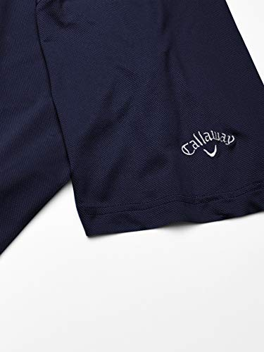 Callaway Short Sleeve Solid Swing Tech Polo, Peacoat, 5X Large Tall